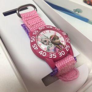Disney Frozen pink girls watch brand new